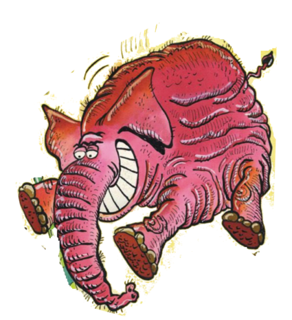 Illusion matinale Elephant-de-Carali